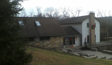Old shingles and deck