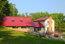 Standing Seam Roof and a Vinyl Deck with Aluminum Railings. Roof Price Range: $21,300 - $26,400 Deck Price Range: $36,400 - $43,200