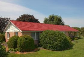 Red Metal Shingle. Price Range: $17,100 - $19,900