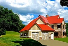 Red Standard Metal Roof Price Range: $21,350 - $26,700
