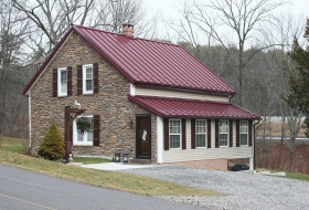 Standing Seam Roof with new rafters. Price range: $15,300 - $16,700