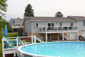 Deck beside Pool. Price range: $5300 - $6700
