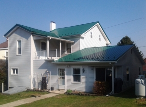 Metal roof replacement in Elizabethville, PA